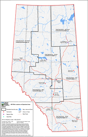 Field Centre Boundary Map